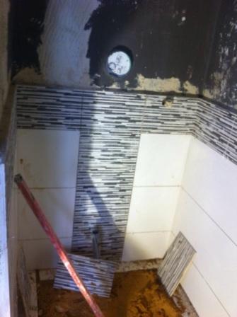אריחים מעוצבים האמבטיה בגורדון