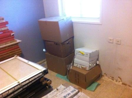 החדרים לפני שיפוץ הדירה