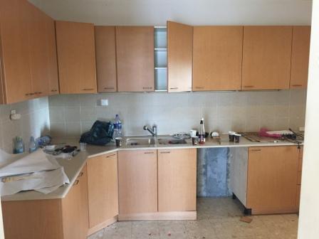 לפני שיפוץ מטבח בדירה במרכז