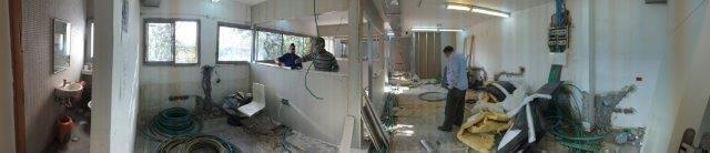 שיפוץ משרדי הנהלה מחלבות גד